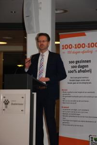 Wethouder Paalvast spreekt over Project 100-100-100