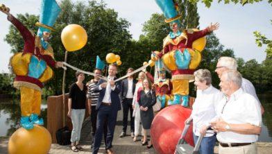Opening Nicolaasbrug Zoetermeer door Robin Paalvast