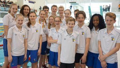 Zwemteam WVZ (foto: WVZ)