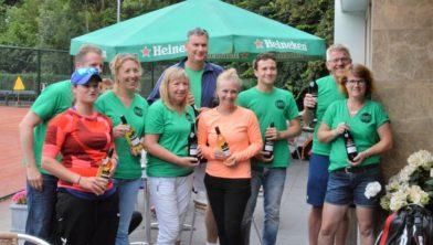 De organisatoren van de vier Zoetermeerse tennisverenigingen