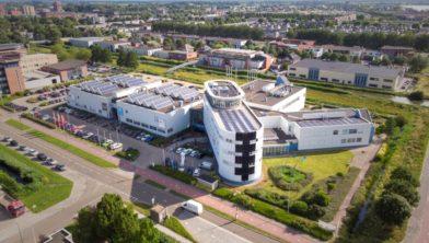 Het Intechnium-gebouw in Woerden