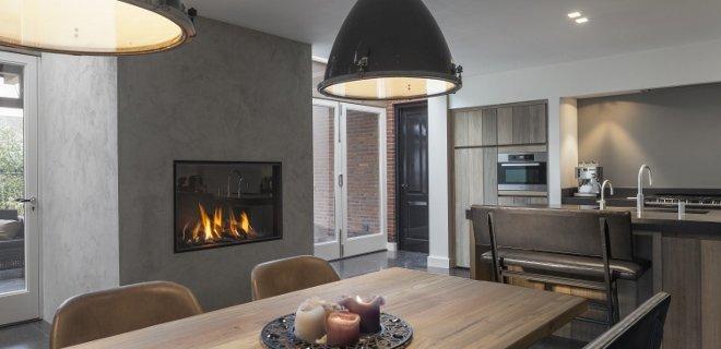 Kastenwand Keuken Hoogte : Een haard of houtkachel in de keuken – Wonen
