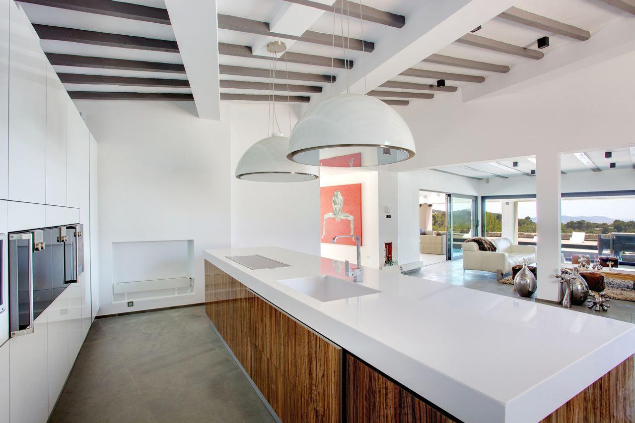 Afzuigsysteem keuken in de vorm van een lamp - Wonen