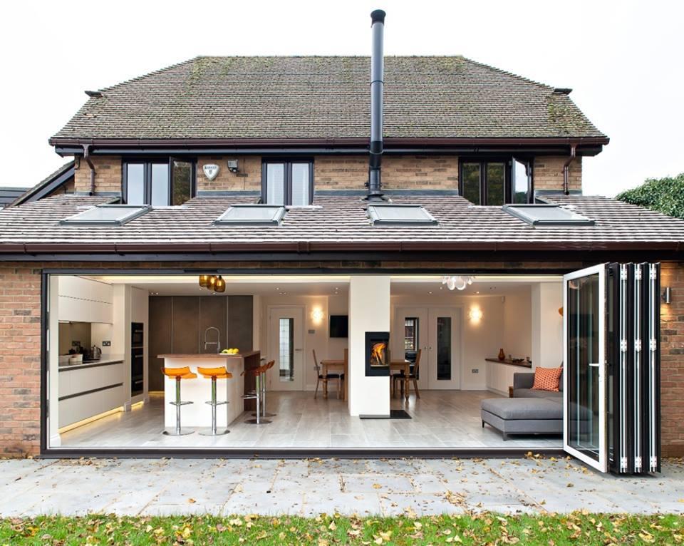 Wooninspiratie keuken in aanbouw wonen for Kitchen extensions ideas designs