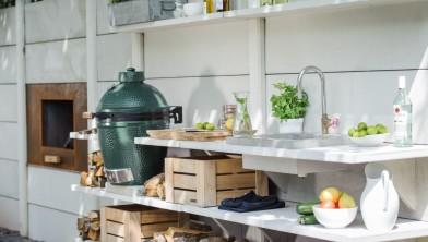 Buiten koken met een buitenkeuken wonen