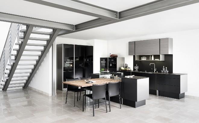 Prijswinnende porsche design keuken wonen