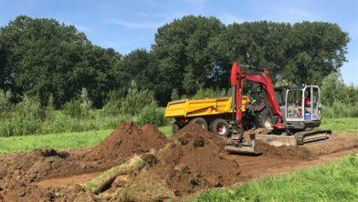 De provincie Overijssel was gisteren druk bezig met de verhuizing van de Zwolse Tulp