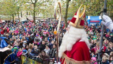 De aankomst van Sinterklaas in Zwolle