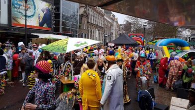 Carnaval bij het Swolsch  Café