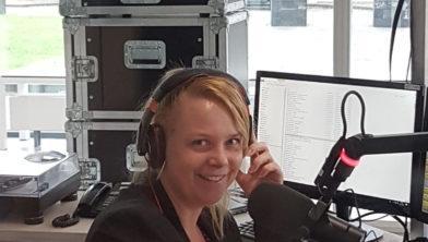 Nachtzuster Astrid de Jong bij RTVZwolleFM