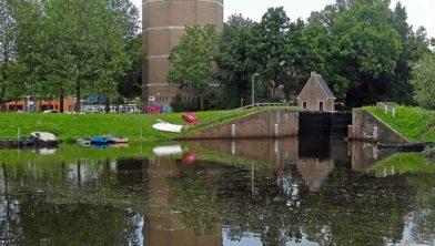Een van de vijf huisjes in Zwolle