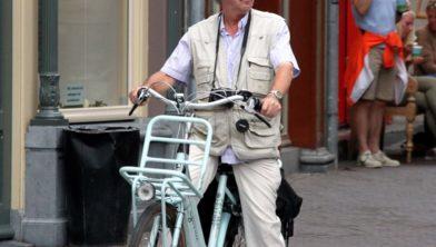 Ouderen op eejn E-bike blijkt een gevaarlijke combinaite