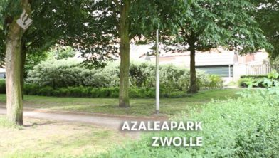 Het Asaleapark Zwolle