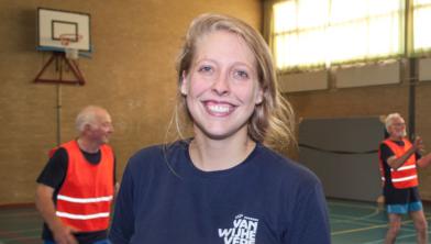Sportleider Joyce Heijman van Hart in Beweging Zwolle