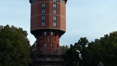 De watertoren aan de Turfmarkt