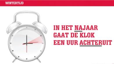 Vannacht Weer Uurtje Langer Slapen De Klok Gaat Weer Terug Zwolle
