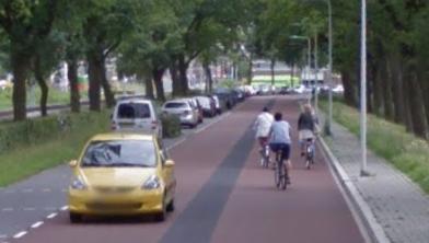 De Kamperweg in Zwolle nodigt uit tot harder rijden dan toegestaan