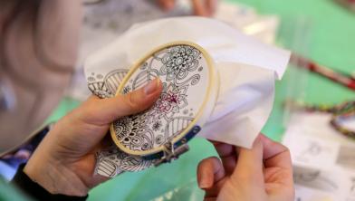 Voor de 16e keer de beurs voor textiele hobby's in de IJsselhallen