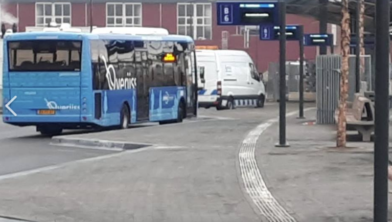 Het nieuwe busstation Zwolle-Zuid