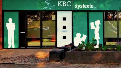 De nieuwe hoofdlocatie van KBC-dyslexie aan de Drapenierlaan