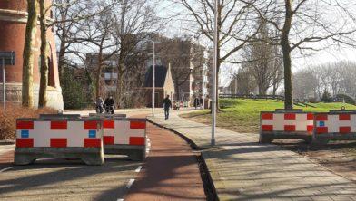 Roadblocks bij Menistenbrug