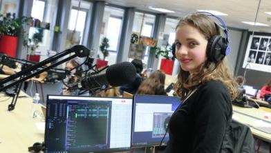 Plezier in het maken van radio bij Landstede