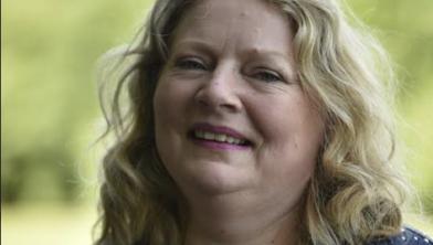Schrijfster Simone ter Kulve-Westerop