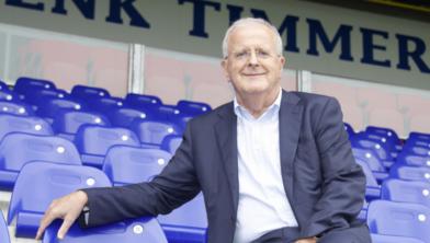 Voorzitter Adriaan Visser van PEC Zwolle