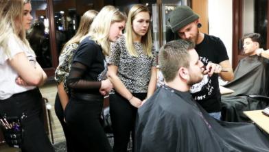 Jongeren willen graag het vak van barbier leren bij Landstede