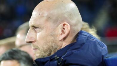 Jaap Stam, nu nog trainer bij PEC Zwolle