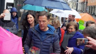 Mark Rutte op bezoek in Zwolle