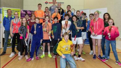 De jeugd heeft de toekomst: ook in squash