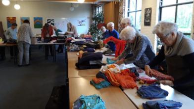 In Zwolle wordt geen kleding meer ingezameld voor Oekraïne