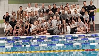 De succesvolle zwemmers van ZV 44