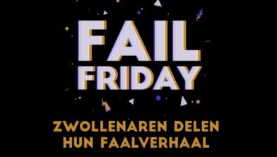 Fail Friday op 12 april in Het Vliegende Paard
