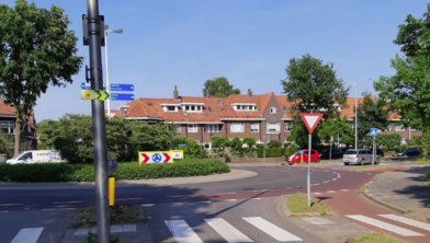 Kruising Hanekamp/Wipstrikkeralllee