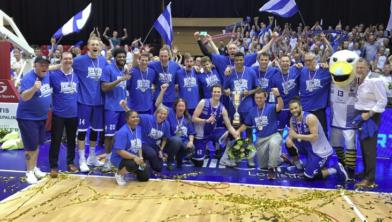 De landstitel voor Landstede Basketbal is een feit