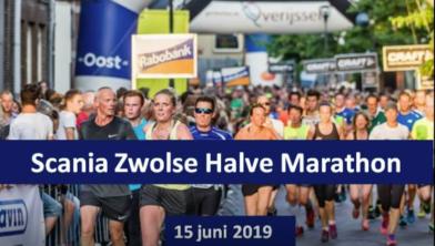 Verkeersmaatregelen halve marathon Zwolle