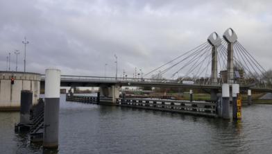 De Twistvlietbrug in Zwolle