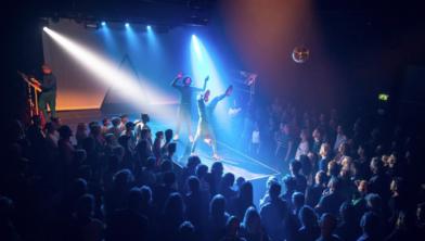 Dansgezelschap 155 liet de bezoekers in extase tijdens hun ijzersterke dansvoorstelling LIJF