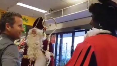 Sinterklaas is de inzamelingsactie gestart