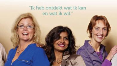 De organisatie van het vrouwenevent Samen aan de slag
