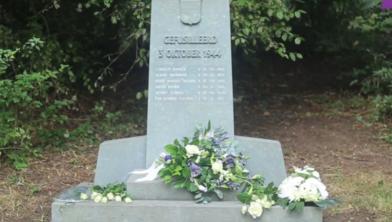 Het monument in het Engelse Werk