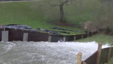 Heel veel water klotst de komende weken over de dijk
