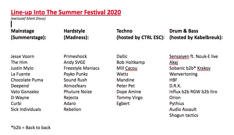 The Summer Festival aan de Wijthmenerplas