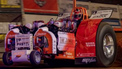 Motorisch geweld in de IJsselhallen: indoor tractor pulling