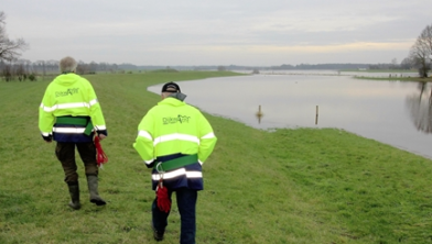 Inspectie van de dijk is van levensbelang