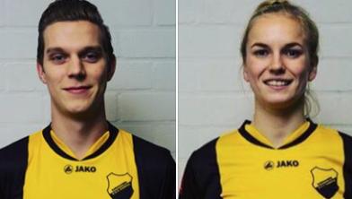 Matthijs Bastiaans en Esther Hamberg