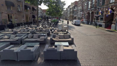 Meer terrassen en minder auto's in de binnenstad