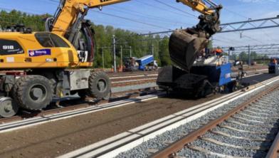 KWS verricht een huzarenstukje op het spoor in Zwolle